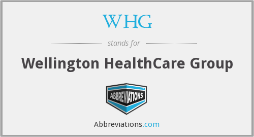 WHG - Wellington HealthCare Group
