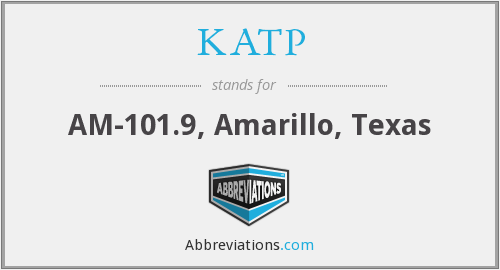 KATP - AM-101.9, Amarillo, Texas