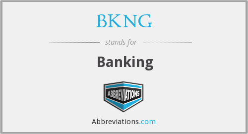 What does BKNG stand for?