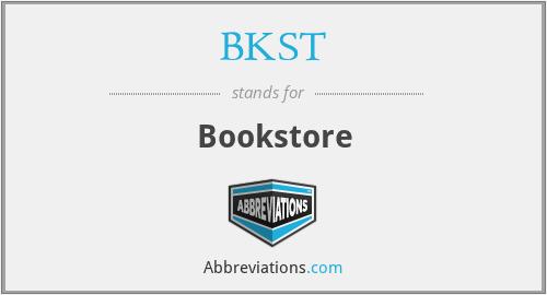 BKST - Bookstore