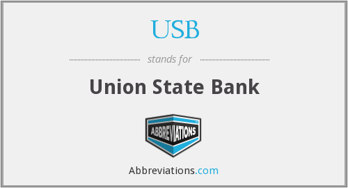 USB - Union State Bank