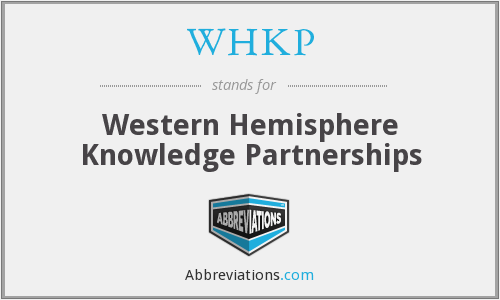 What does WHKP stand for?