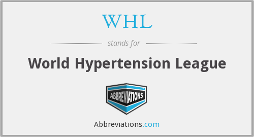 WHL - World Hypertension League