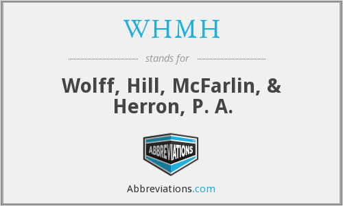 What does WHMH stand for?
