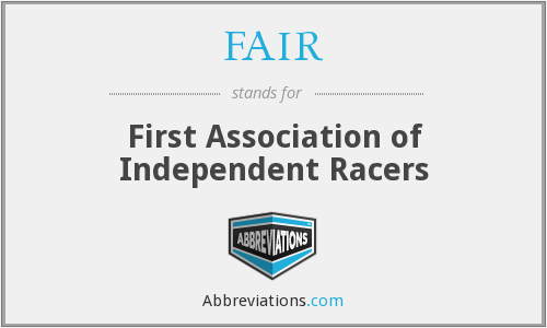 FAIR - First Association of Independent Racers