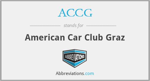 ACCG - American Car Club Graz