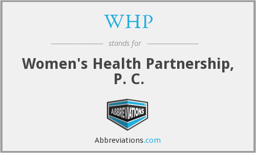 WHP - Women's Health Partnership, P. C.