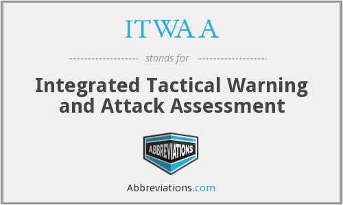 ITWAA - Integrated Tactical Warning and Attack Assessment