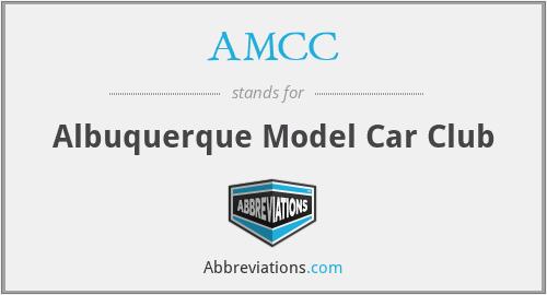 AMCC - Albuquerque Model Car Club