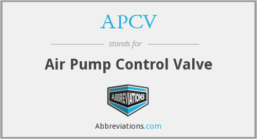 What does APCV stand for?