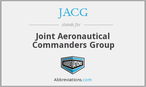JACG - Joint Aeronautical Commanders Group