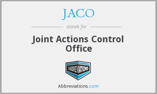 JACO - Joint Actions Control Office