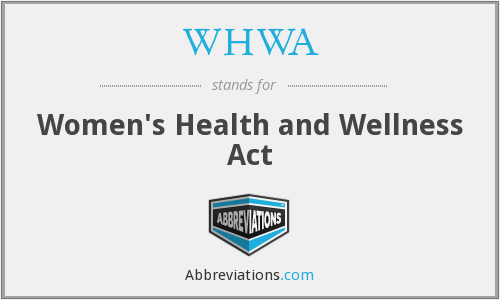 What does WHWA stand for?