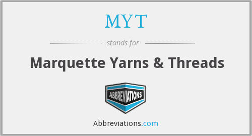 MYT - Marquette Yarns & Threads