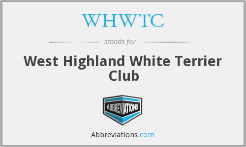 WHWTC - West Highland White Terrier Club