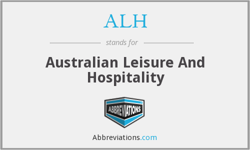 ALH - Australian Leisure And Hospitality