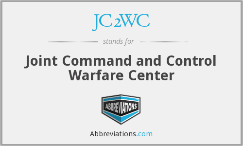 JC2WC - Joint Command and Control Warfare Center