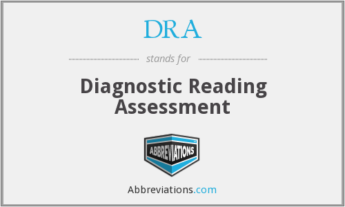 DRA - Diagnostic Reading Assessment