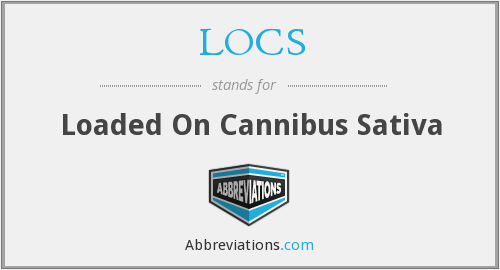 LOCS - Loaded On Cannibus Sativa