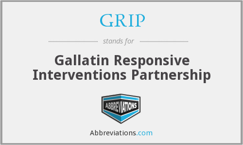 GRIP - Gallatin Responsive Interventions Partnership