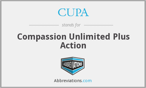 CUPA - Compassion Unlimited Plus Action