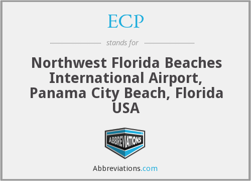 ECP - Northwest Florida Beaches International Airport, Panama City Beach, Florida USA