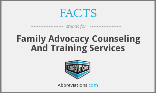 FACTS - Family Advocacy Counseling And Training Services