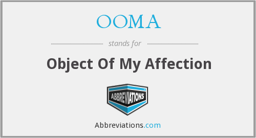 OOMA - Object Of My Affection