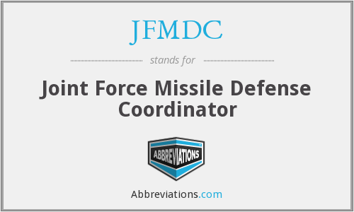 What does JFMDC stand for?