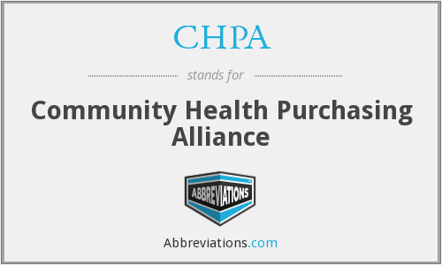 CHPA - Community Health Purchasing Alliance