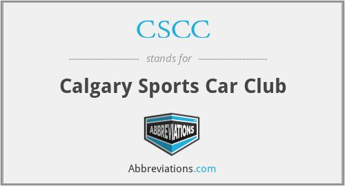 CSCC - Calgary Sports Car Club