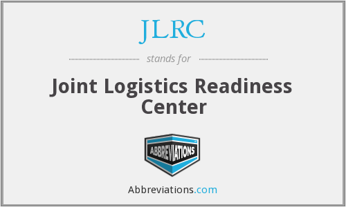 What does JLRC stand for?