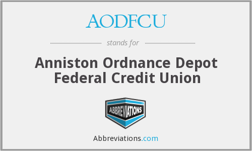 What does AODFCU stand for?