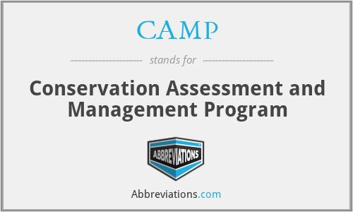 CAMP - Conservation Assessment and Management Program