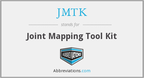 What does JMTK stand for?