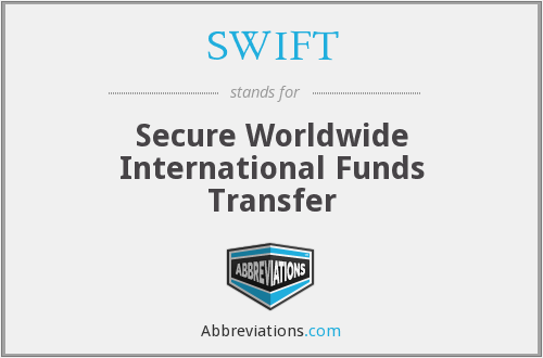 SWIFT - Secure Worldwide International Funds Transfer