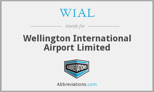 WIAL - Wellington International Airport Limited