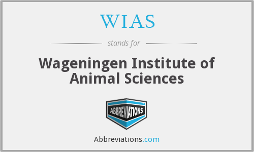 WIAS - Wageningen Institute of Animal Sciences