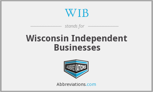 WIB - Wisconsin Independent Businesses