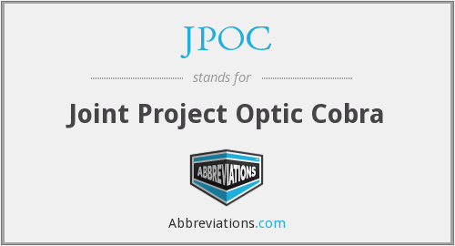 What does JPOC stand for?