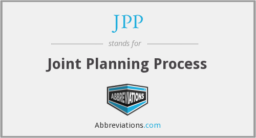 JPP - Joint Planning Process