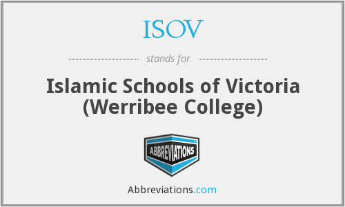 ISOV - Islamic Schools of Victoria (Werribee College)