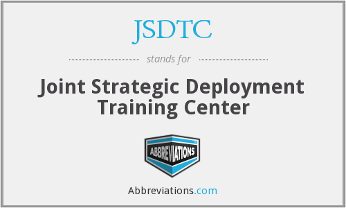 What does JSDTC stand for?
