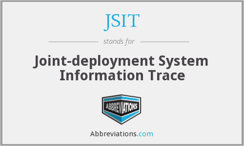 What does JSIT stand for?