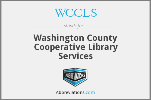 WCCLS - Washington County Cooperative Library Services