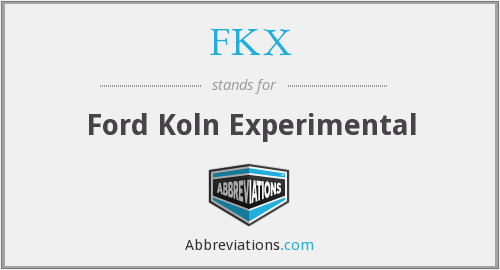 What does FKX stand for?