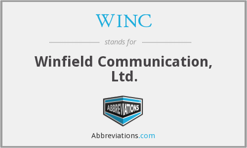What does WINC stand for?