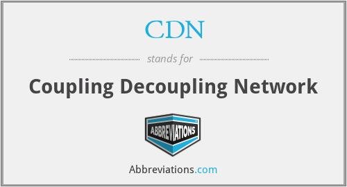 CDN - Coupling Decoupling Network