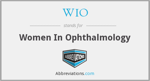 WIO - Women In Ophthalmology