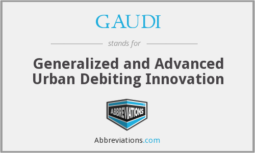 What does debiting stand for?